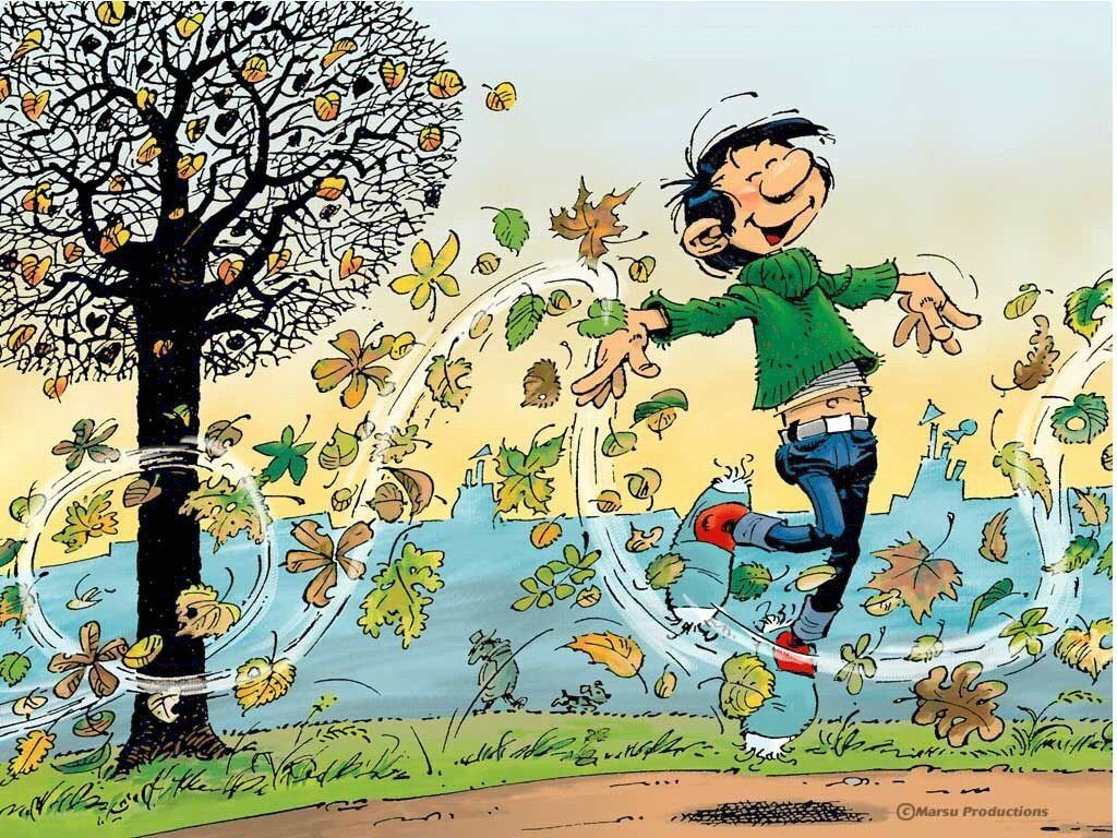 Le dicton météo du jour - Page 8 Gastonlagaffe