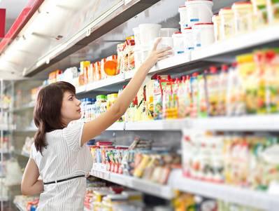 produit alimentaire magasin