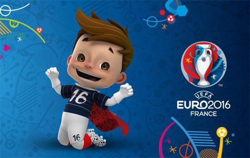 foot euro 2016 mascotte et logo
